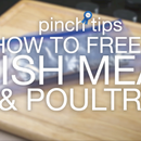 How to Freeze Fish, Meat & Poultry
