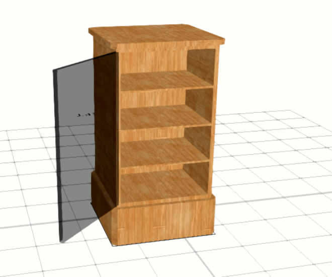 SelfCAD 3D Cabinet