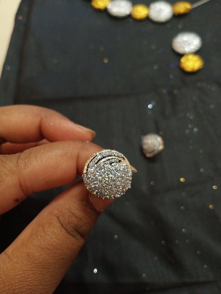 Making Glitter Stud: