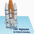 ISRO Gaganyaan on Tinkercad