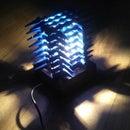 Unusual Lamp Made of Kubotans