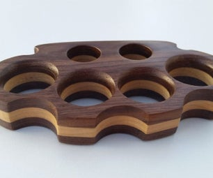 Wooden Knuckle Dusters