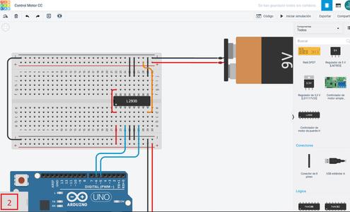 ¡Agreguemos Los Componentes! - Control De Motor + Motor