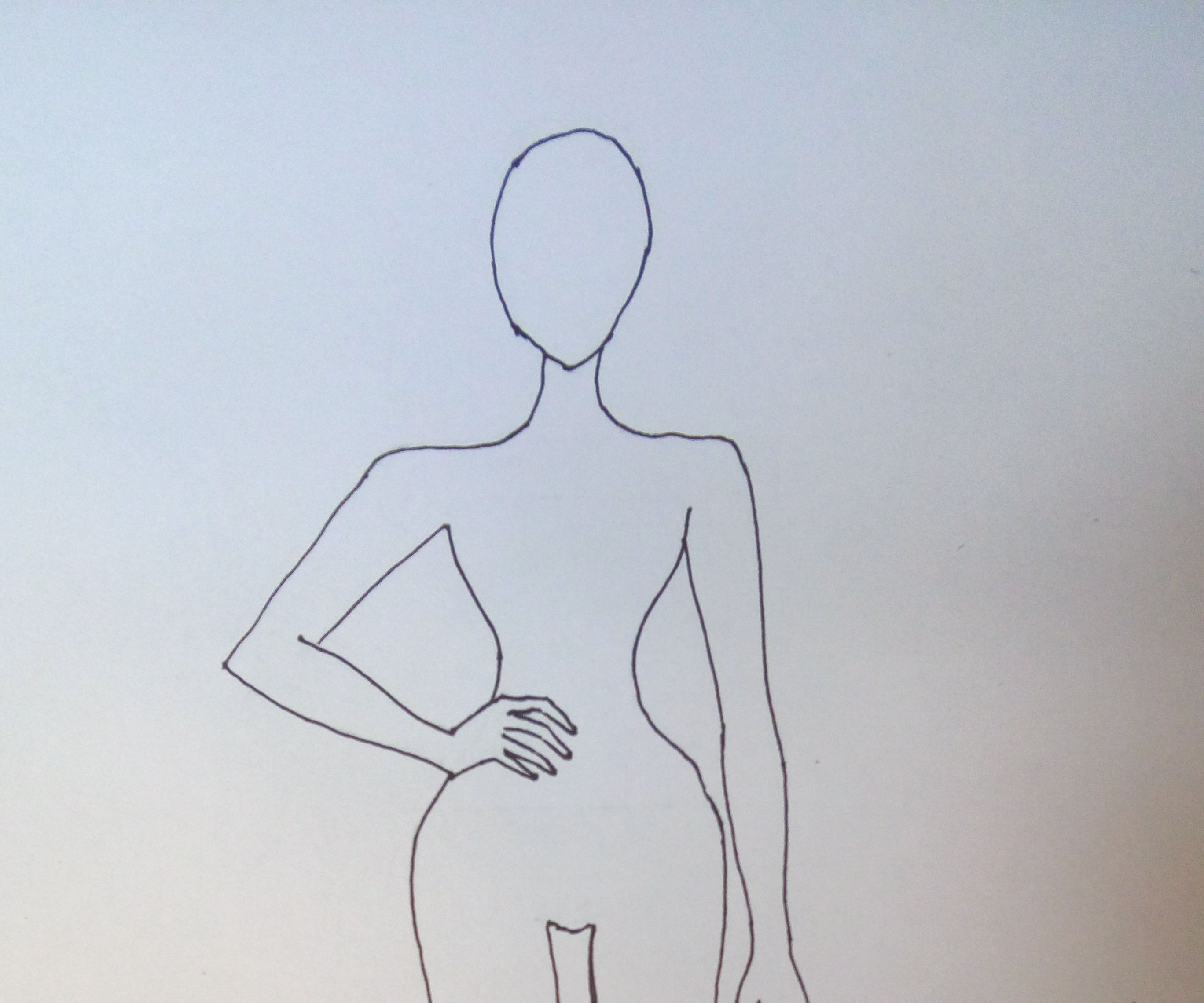 How to Draw a Simple Fashion Illustration