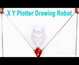 XY Plotter Drawing Robot | Arduino | Polargraph