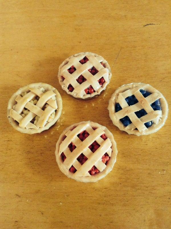 DIY Easy Polymer Clay Pies!