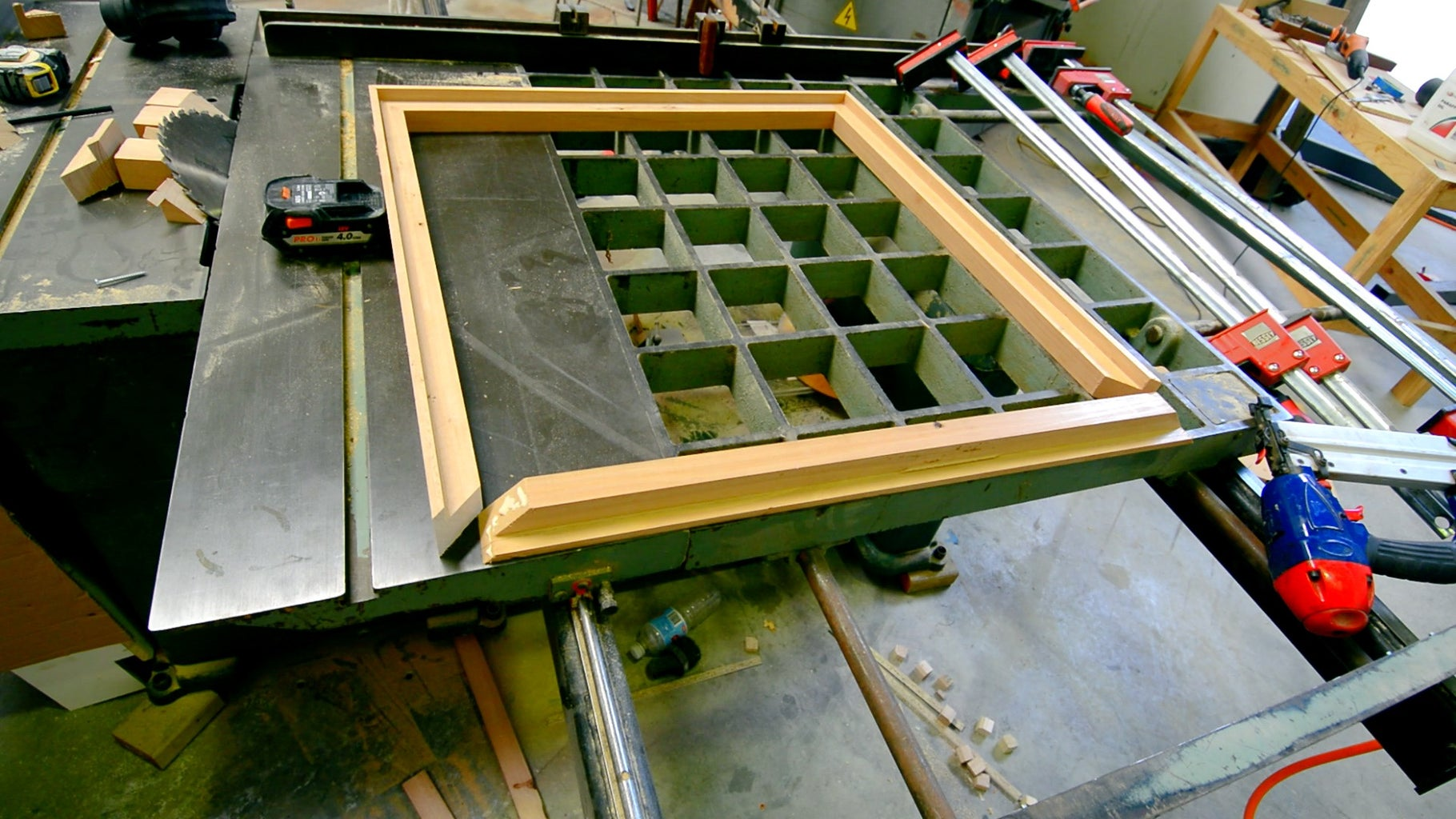 Making the Table Top Frame