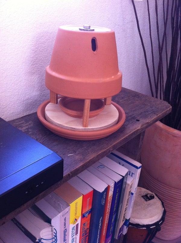 Tea Light Radiant Space Heater
