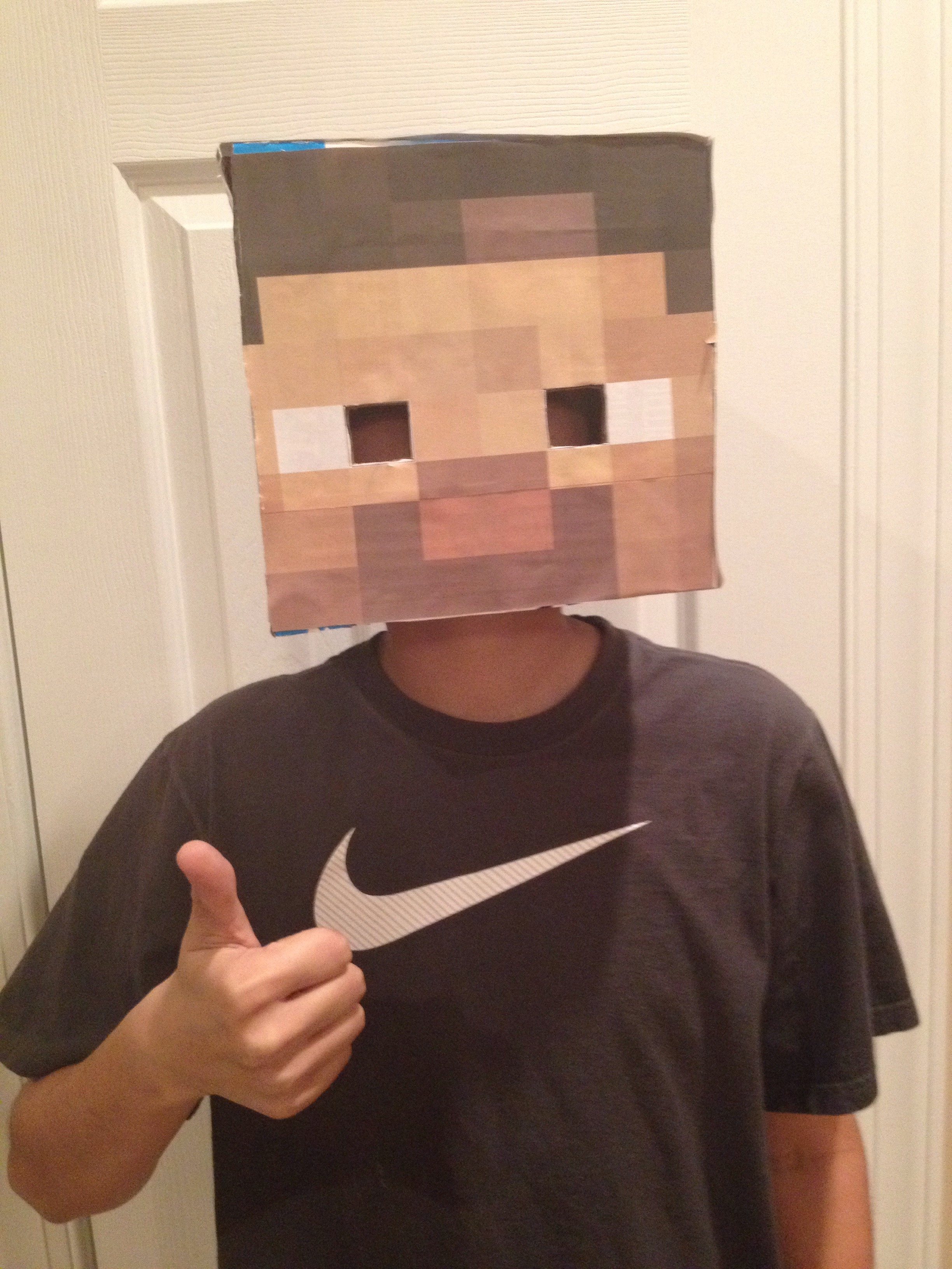 Minecraft: Easy Steve Head