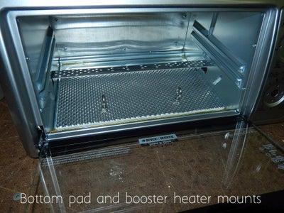 Install Bottom Panel & Heater Mount