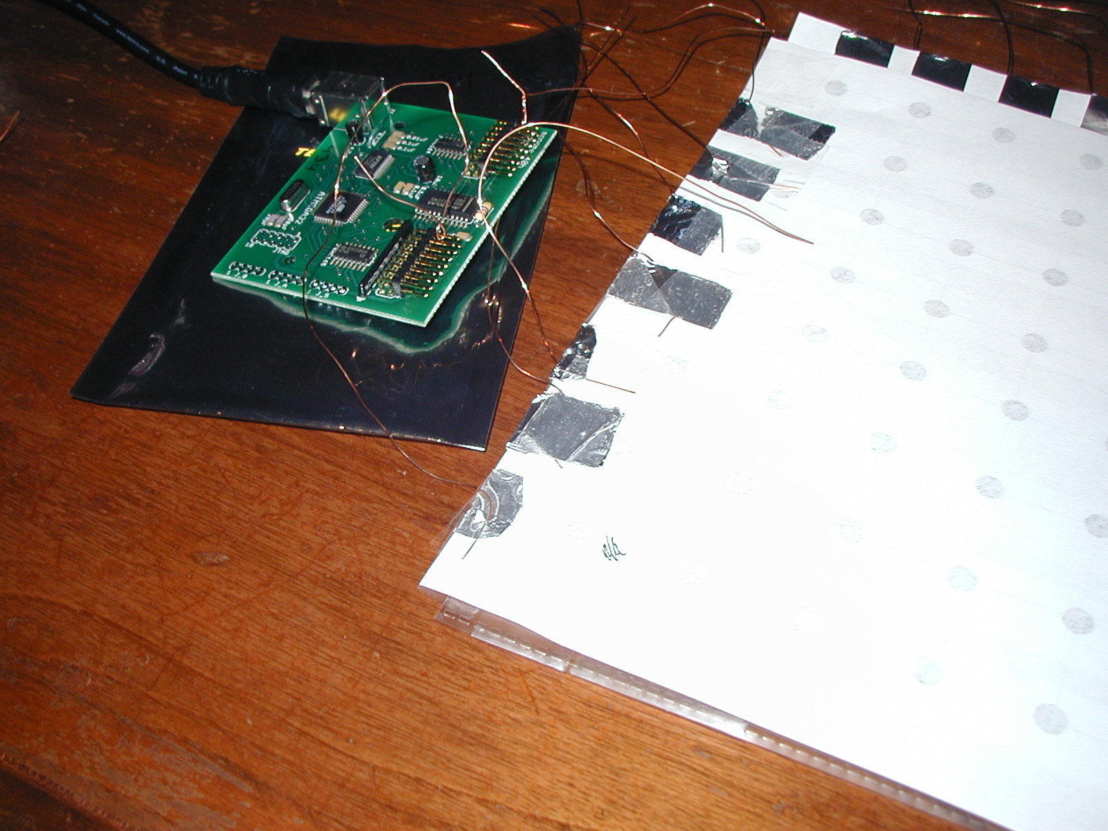 Paper and Tin Foil Input Device