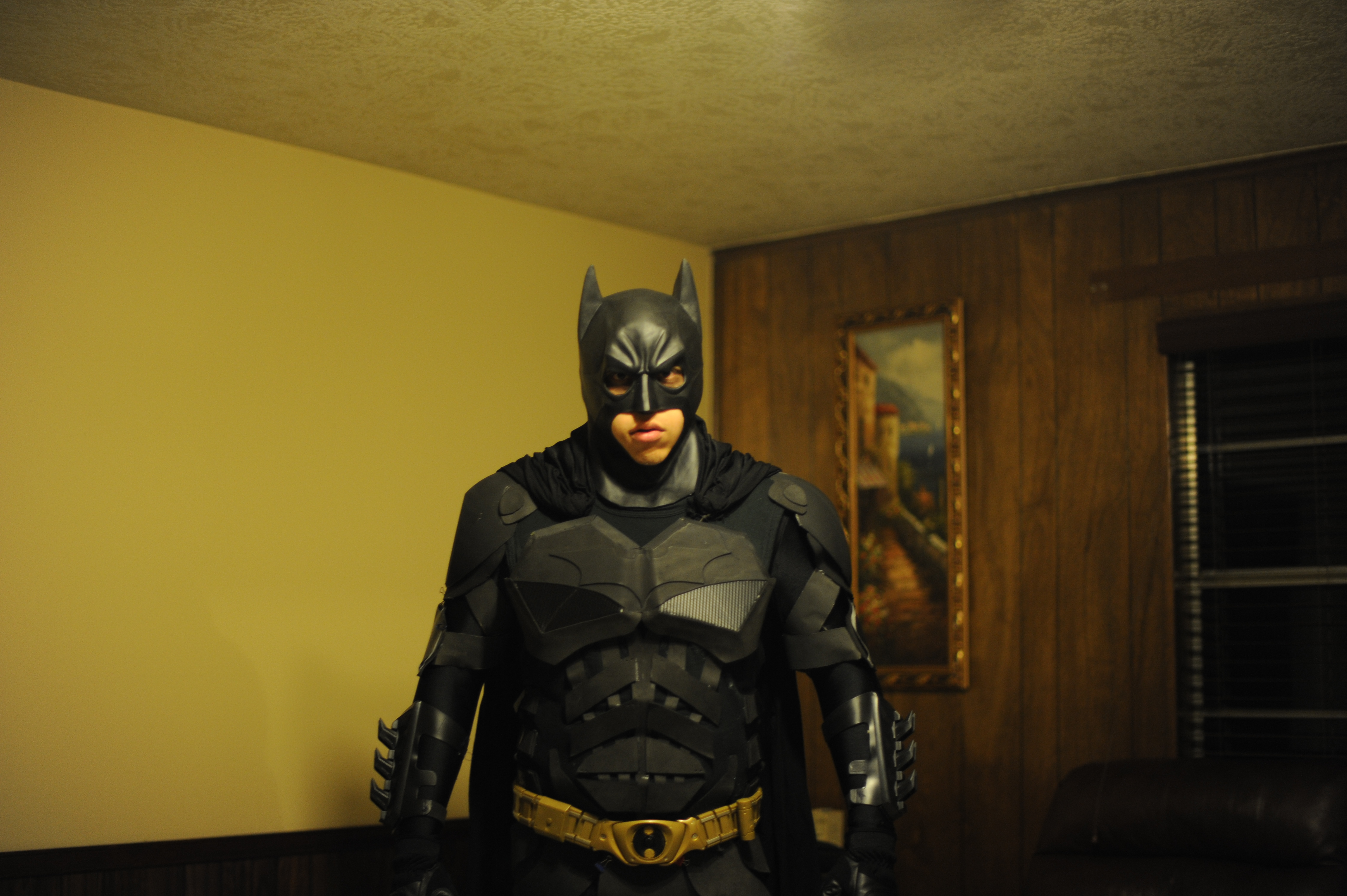 The Dark Knight Rises Batman Costume