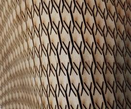 Curved Laser Bent Wood