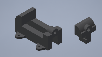 Adding the Second and Third (X2) Part: Jaw and Keys