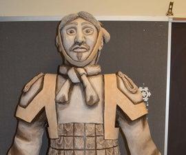 Paper Mache Terracotta Warrior
