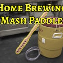 Mash Paddle for Home Brewing