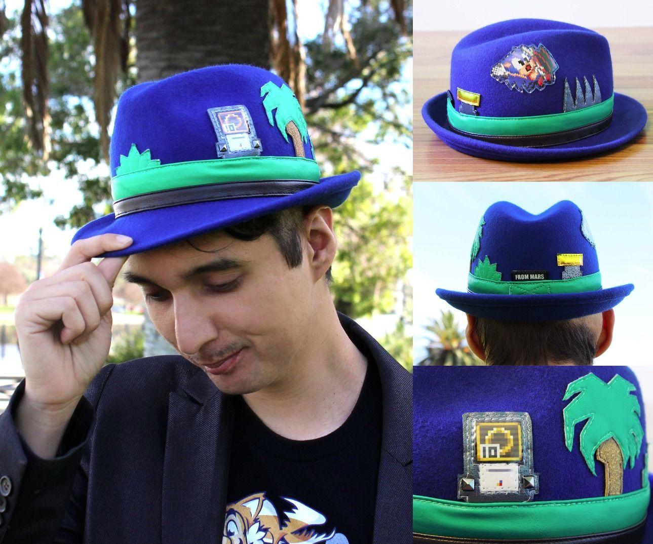 DIY Sonic the Hedgehog Hat
