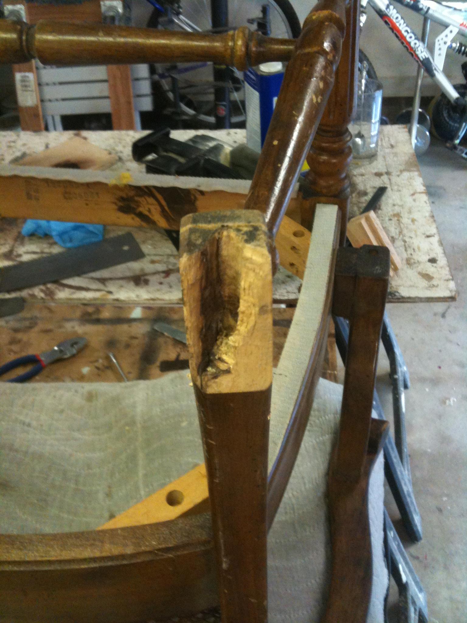 How to Fix a Broken Chair Foot