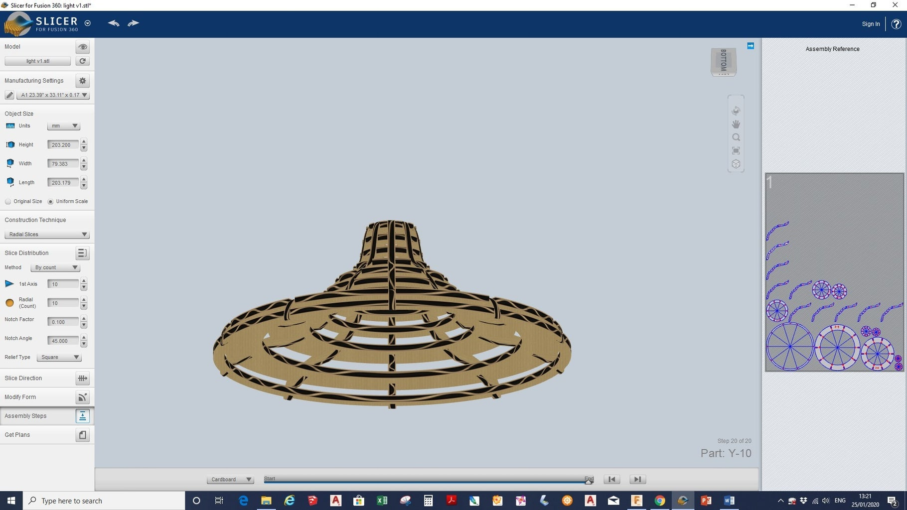 Slicing the Model With Slicer