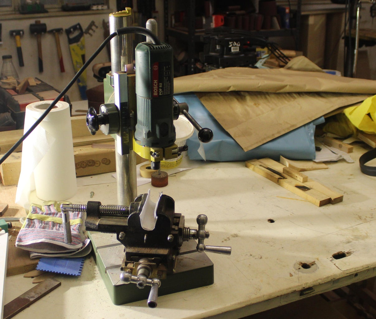 Poor Man's Milling Machine for Wood (for Making Cat Doors, Sliding Bevels and Other Cool Stuff).