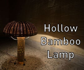 Hollow Bamboo Lamp