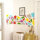 DIY Geometric Wall Art Home Decor