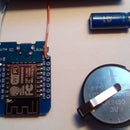 Remote Control: ESP8266 With Coin Cell