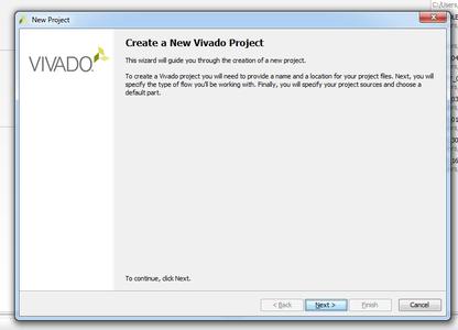 Create Vivado Project