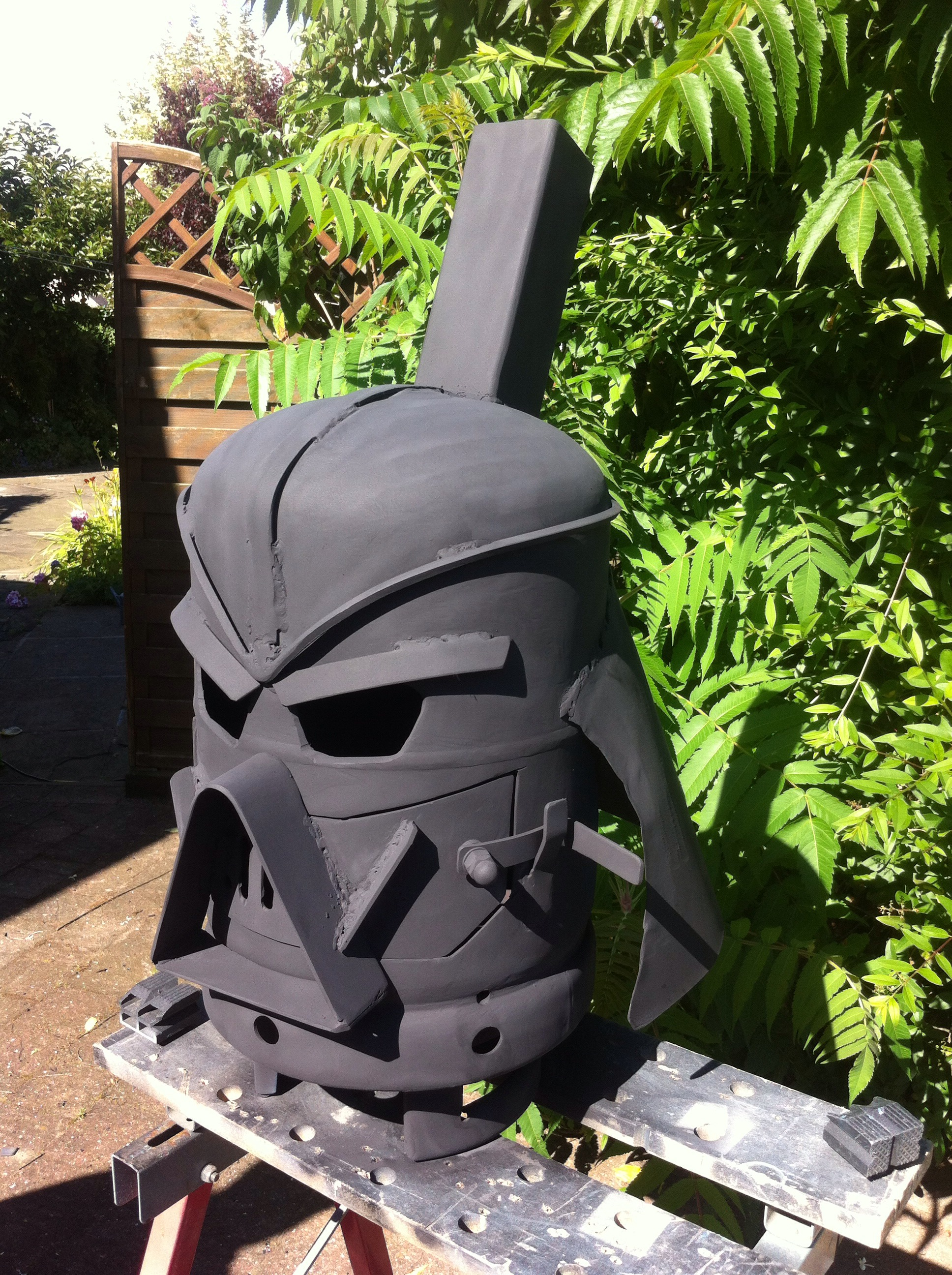 Vader Gas Bottle Log Burner