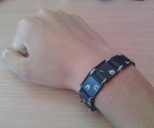 Phosphorescent Keyboard Barcelet