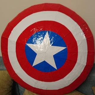 Flying Captain America Shield