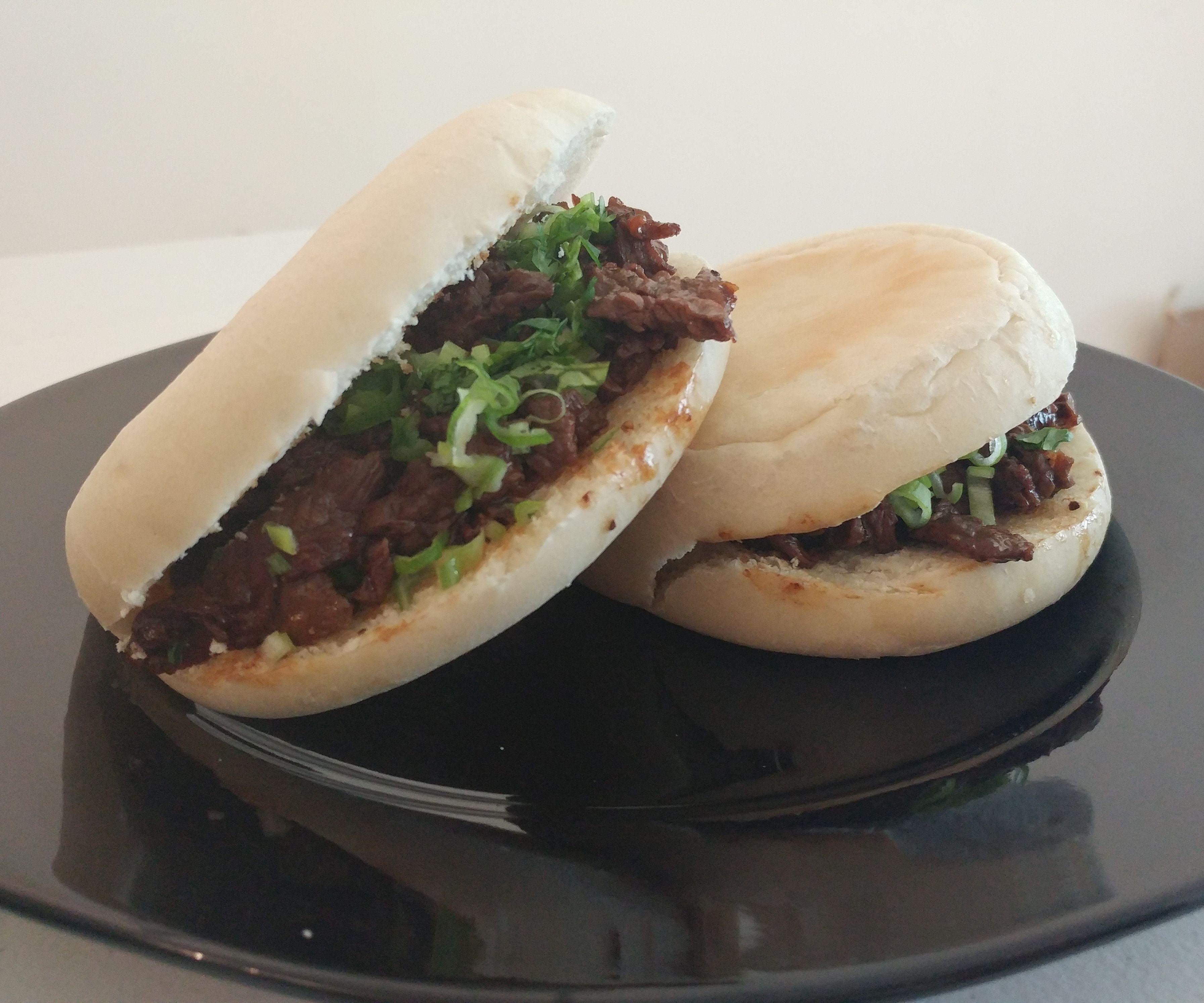 Chinese Style Steak Muffin