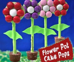 How to Make Flower Pot Cake Pops