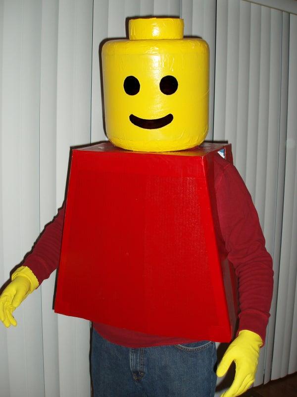 LEGO Man Costume!