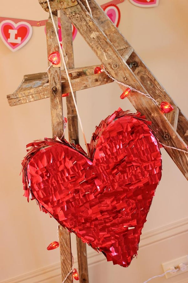 Valentine's Heart Pinata (recycled Style)