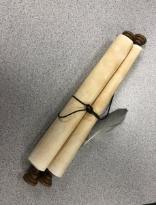 Medieval Scroll & Feather Pen