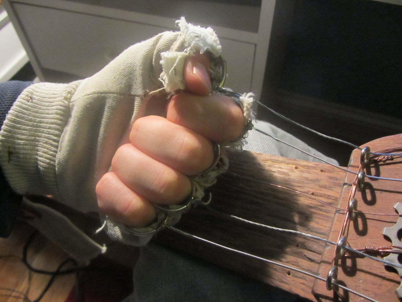 The Glove and Wiring