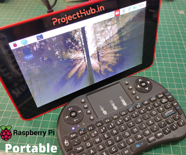 Portable Touch Screen Computer With Raspberry Pi 4