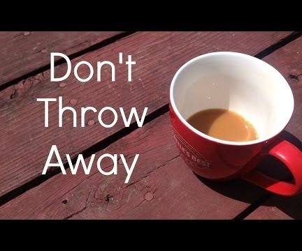 Use Leftover Coffee to fix Scratches in Furniture (VIDEO)