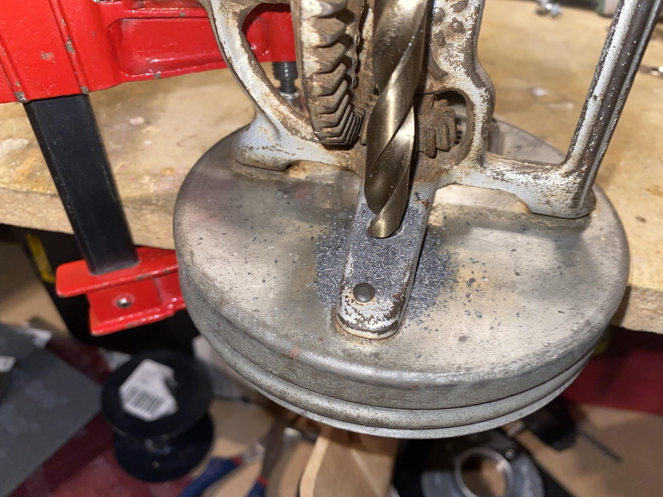 Drilling and Mounting Nipple