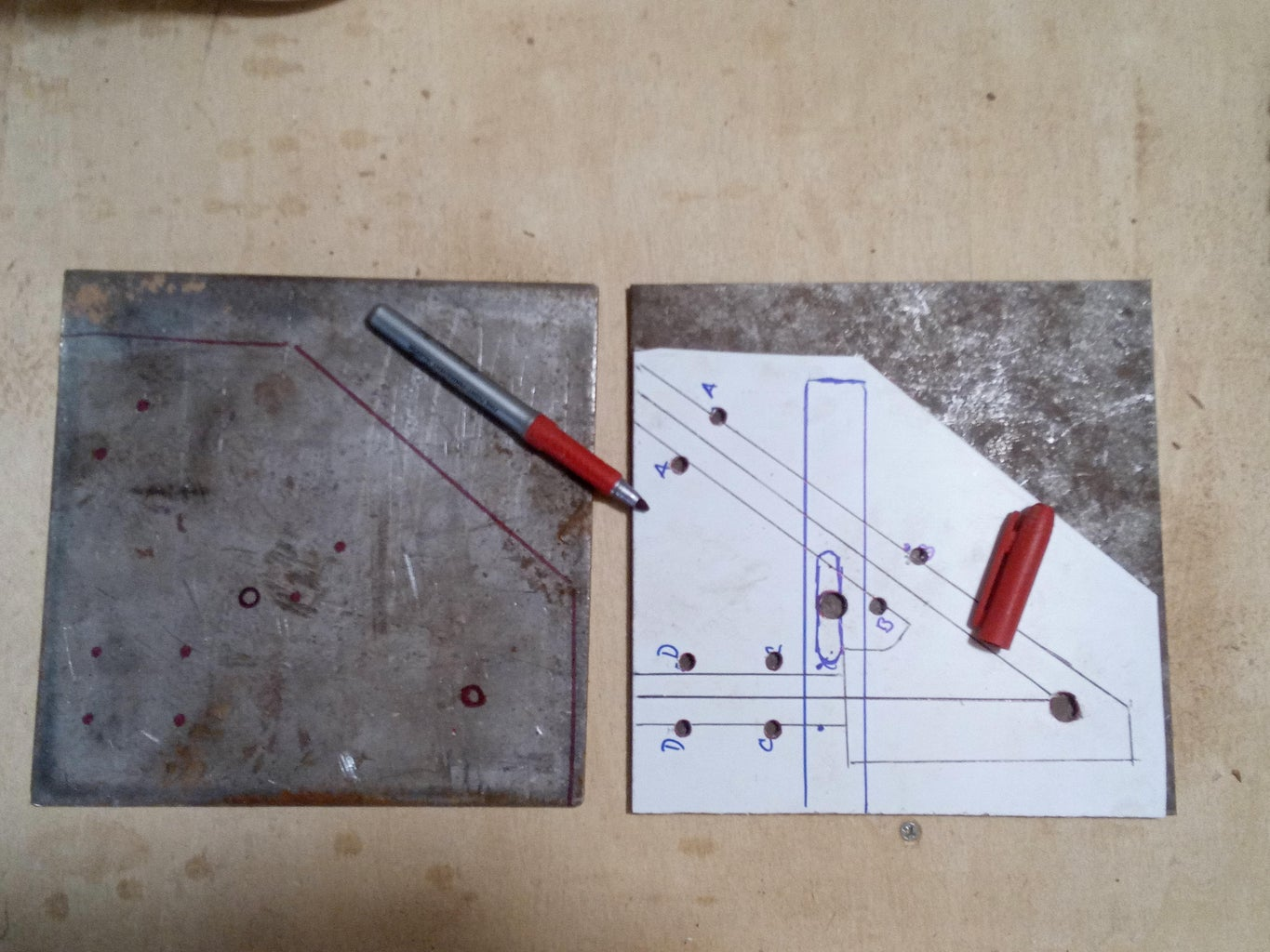 Transfer the Design to the Steel Plates