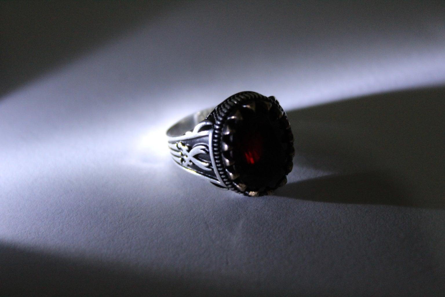 Red Heparin Agate