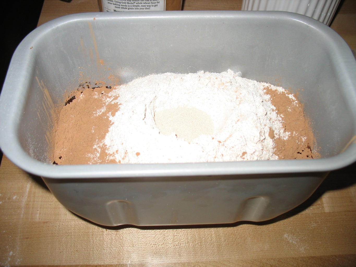 Add the Ingredients to Your Breadmaker