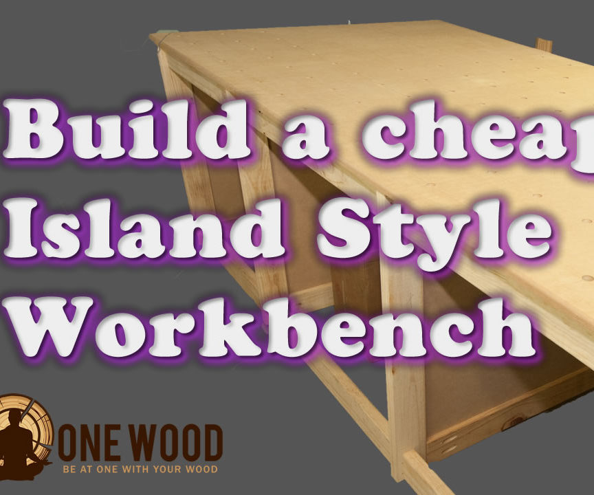 How to build a cheap workbench for woodworking using a Kreg HD jig, with VIDEO tutorial