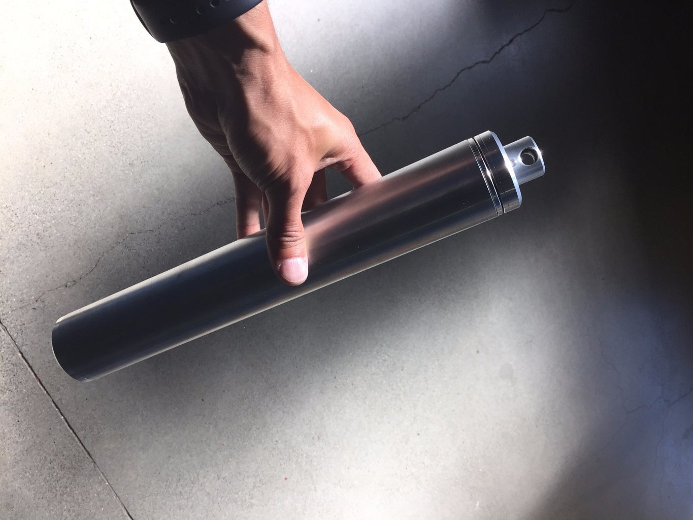 Time Capsule With Ball Plunger Detent Mechanism (built Using a CNC Lathe)
