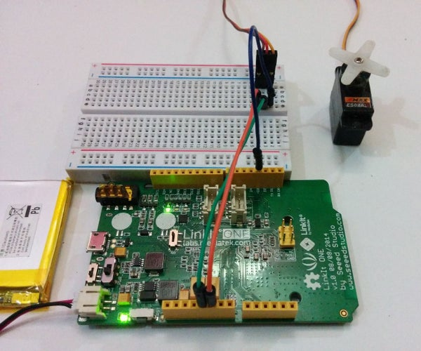 Getting Started With LinkIt One - Servo