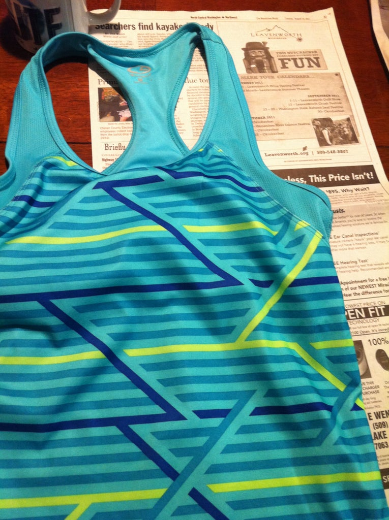 Use the Favorite Tank Top to Create a Pattern