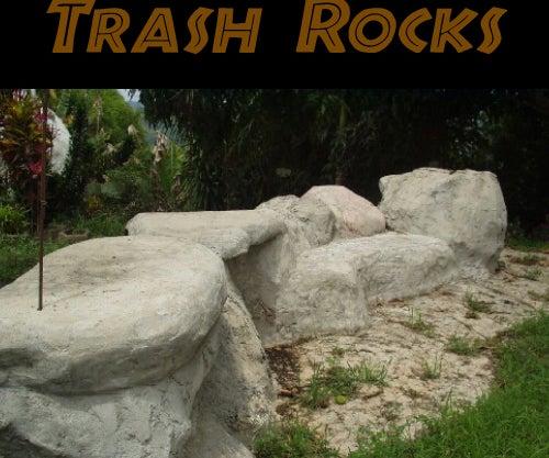 TRASH ROCKS -- Eliminate Unrecyclable Trash