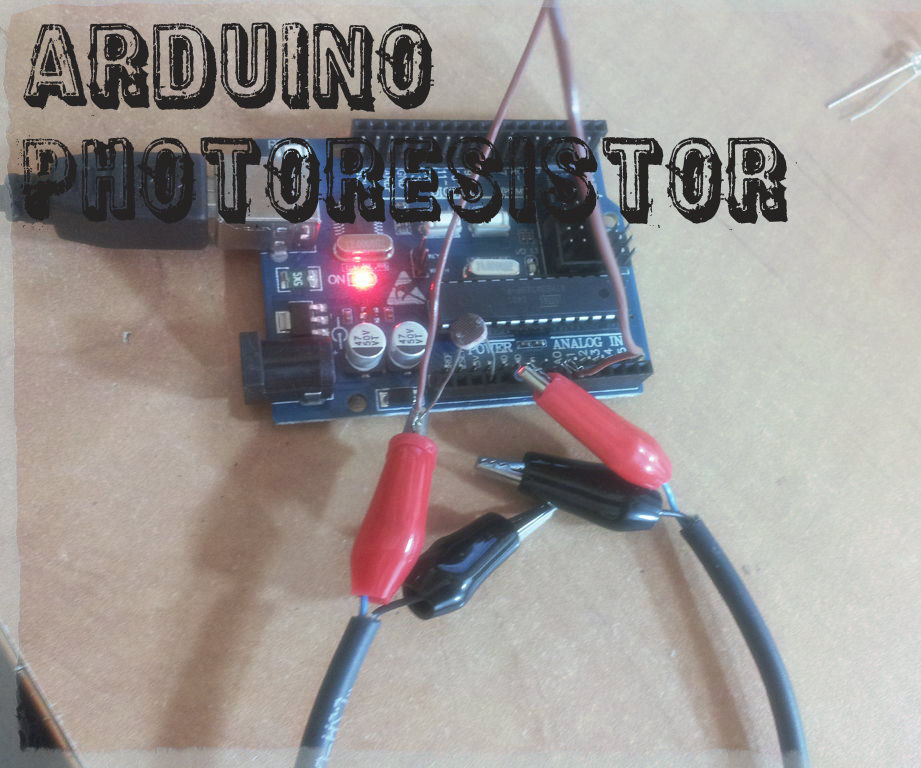 Arduino basics No.1 - photoresistor