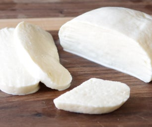 Homemade Mozzarella Cheese (Only 2 Ingredients!)